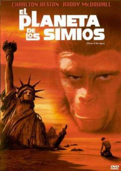 Spanish DVDs - The Planet Of The Apes 1968