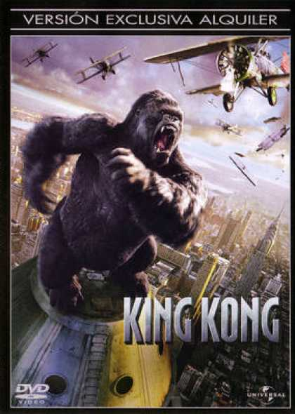 Spanish DVDs - King Kong