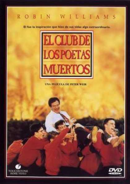 Spanish DVDs - Dead Poets Society