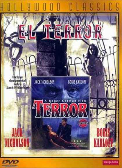 Spanish DVDs - The Terror