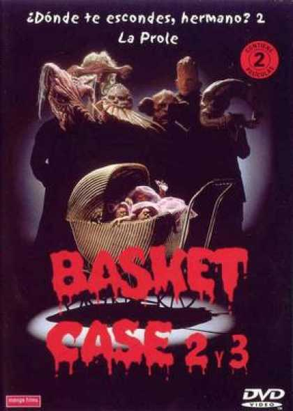 Spanish DVDs - Basket Case 2 And 3