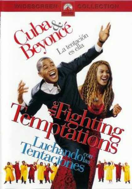 Spanish DVDs - The Fighting Temptations