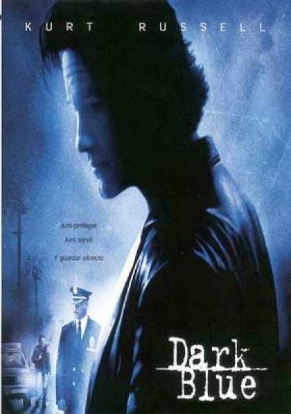 Spanish DVDs - Dark Blue