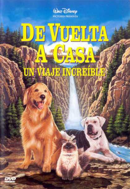 Spanish DVDs - Homeward Bound The Incredible Journey