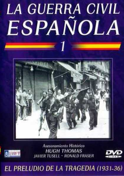 Spanish DVDs - Civil War Spain 1