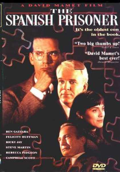 Spanish DVDs - The Spanish Prisoner