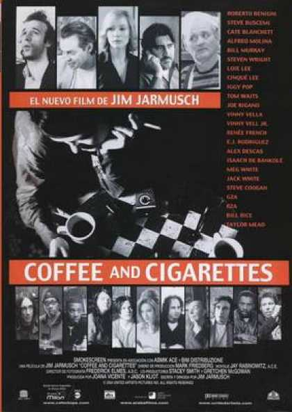 Spanish DVDs - Coffee And Cigarrettes