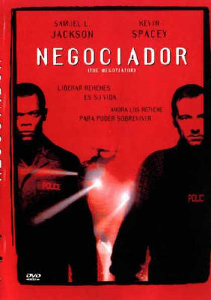 Spanish DVDs - The Negotiator