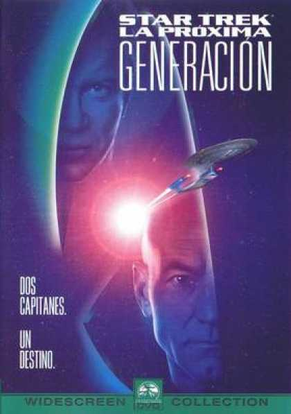 Spanish DVDs - Star Trek: Generations WS CE