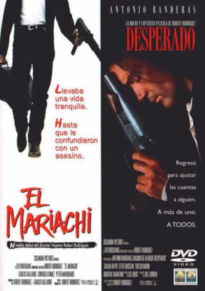 Spanish DVDs - Desperado And El Mariachi