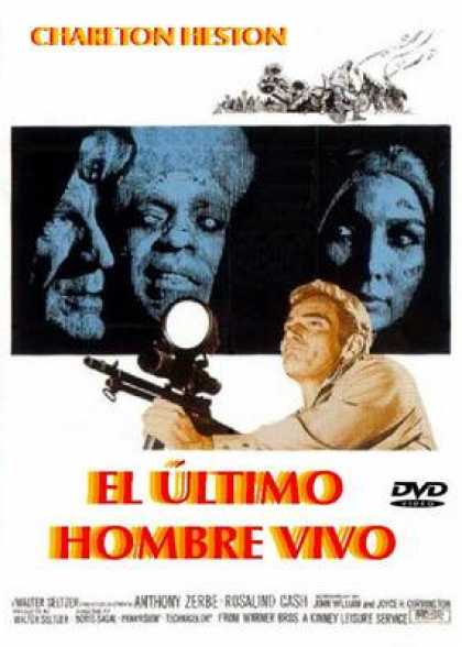 Spanish DVDs - The Omega Man