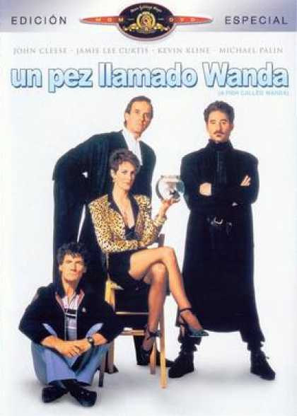 Spanish DVDs - A Fish Called Wanda