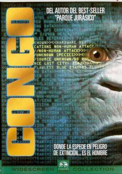 Spanish DVDs - Congo Widescreen