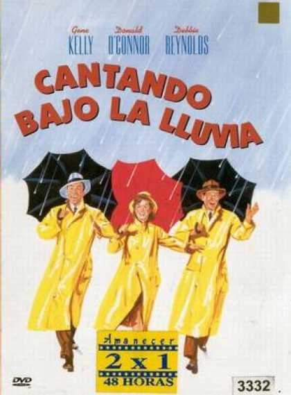 Spanish DVDs - Singing In The Rain