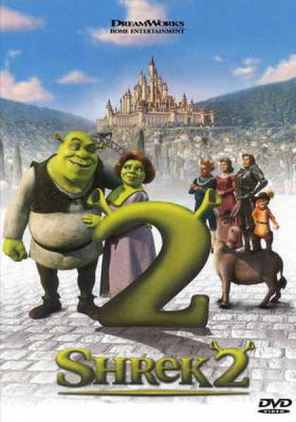 Spanish DVDs - Shrek 2
