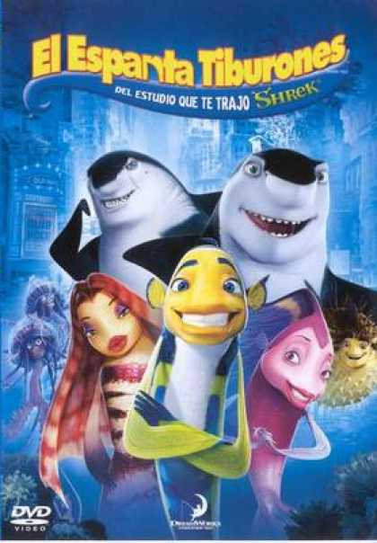 Spanish DVDs - Shark Tale