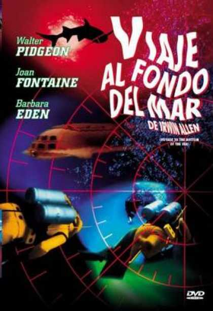 Spanish DVDs - Voyage To The Bottom Of The Sea