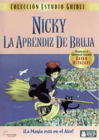 Spanish DVDs - Kikis Delivery Service