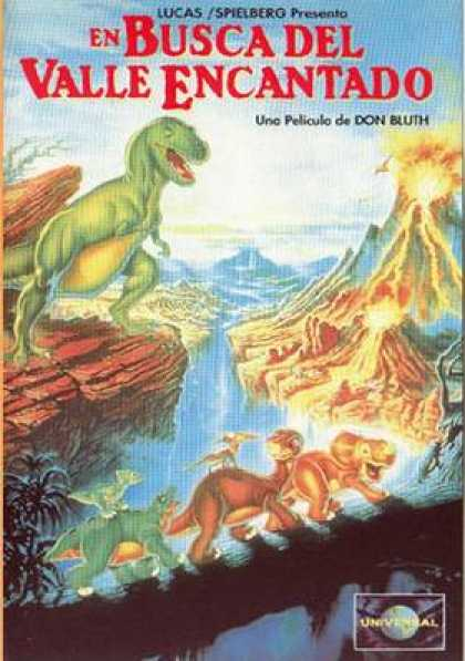 Spanish DVDs - The Land Before Time