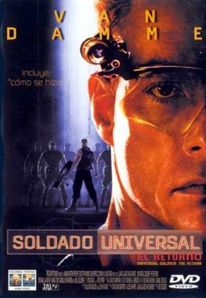 Spanish DVDs - Universal Soldier 2