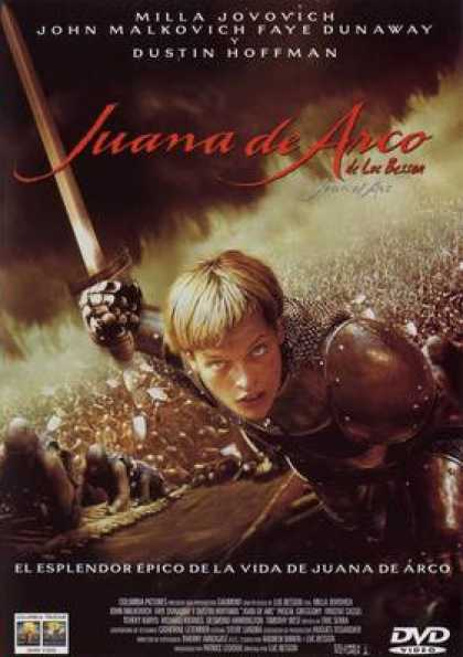 Spanish DVDs - Joan Of Arc