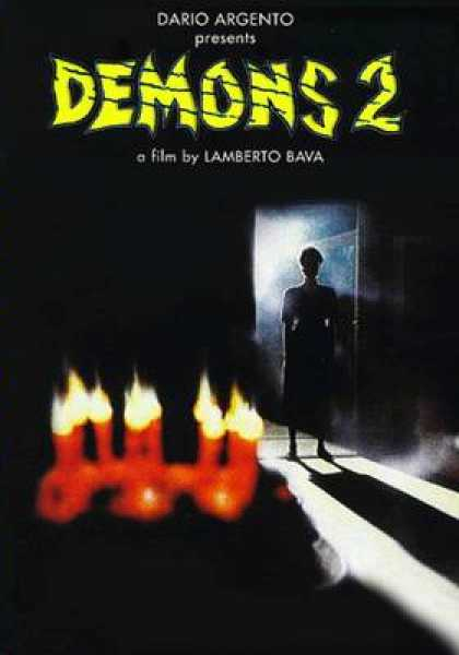 Spanish DVDs - Demons 2