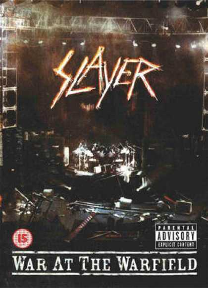 Spanish DVDs - Slayer War At The Warfield