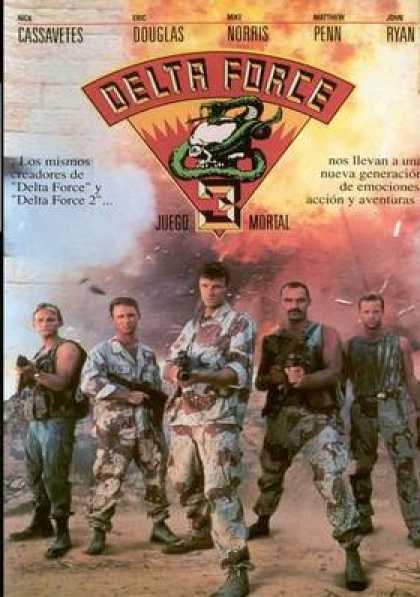 Spanish DVDs - Delta Force 3
