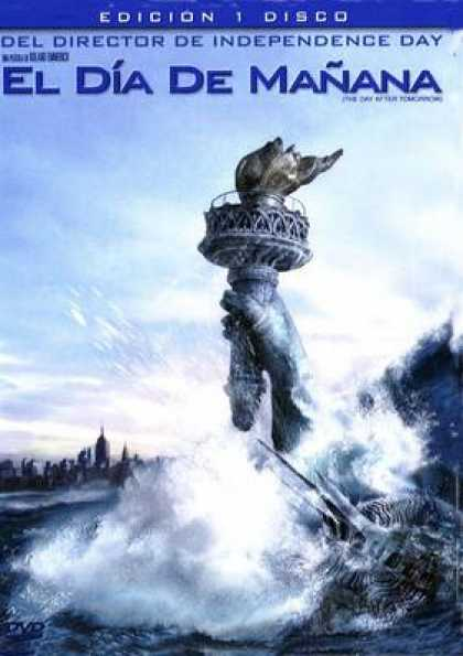 Spanish DVDs - The Day After Tomorrow One