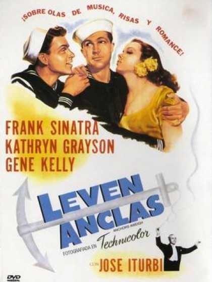 Spanish DVDs - Anchors Aweigh