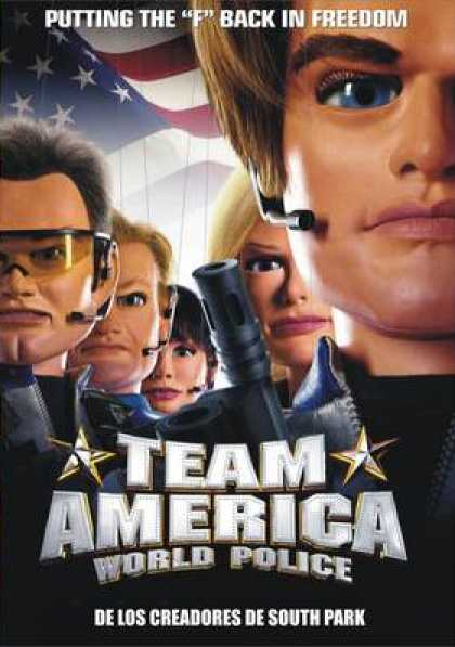 Spanish DVDs - Team America: World Police