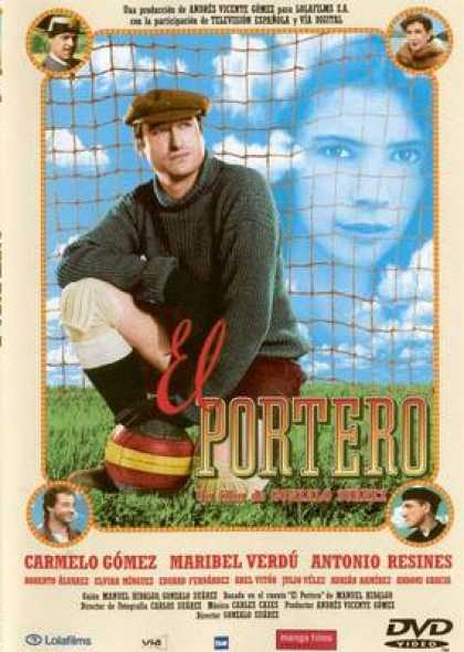 Spanish DVDs - The Goalkeeper