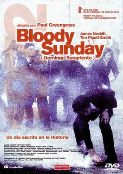 Spanish DVDs - Bloody Sunday