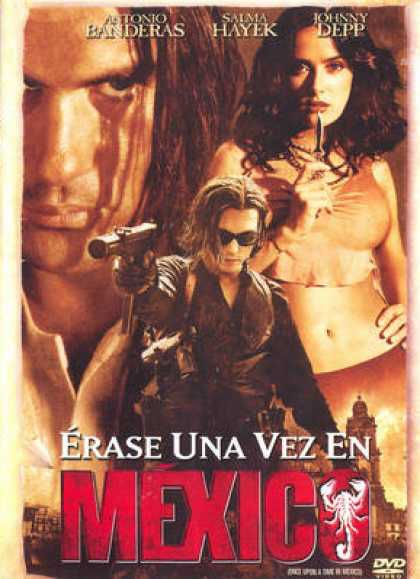 Spanish DVDs - Once Upon A Time In Mexico