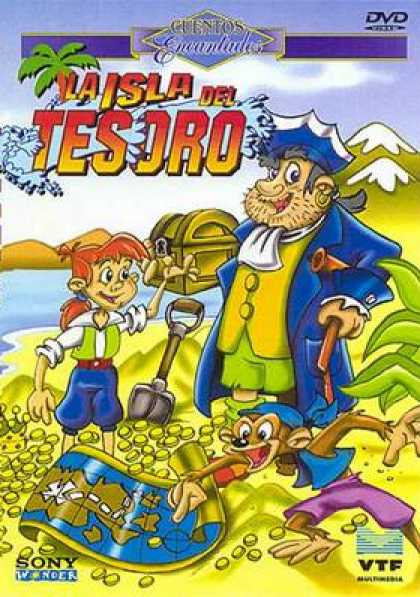 Spanish DVDs - The Island Of Lost Treasure
