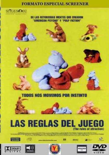Spanish DVDs - The Rules Of Attraction