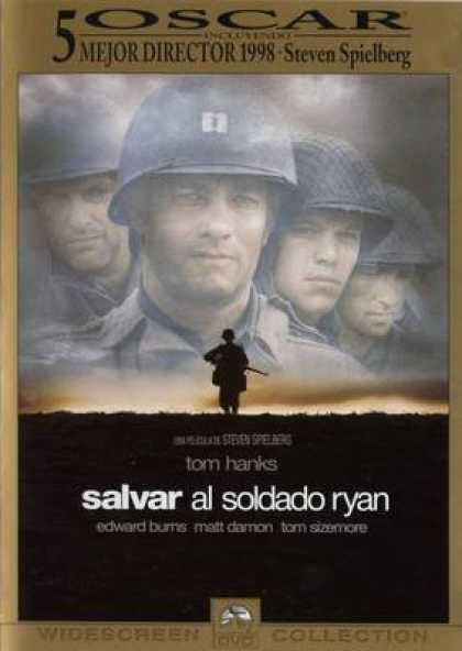 Spanish DVDs - Saving Private Ryan Widescreen