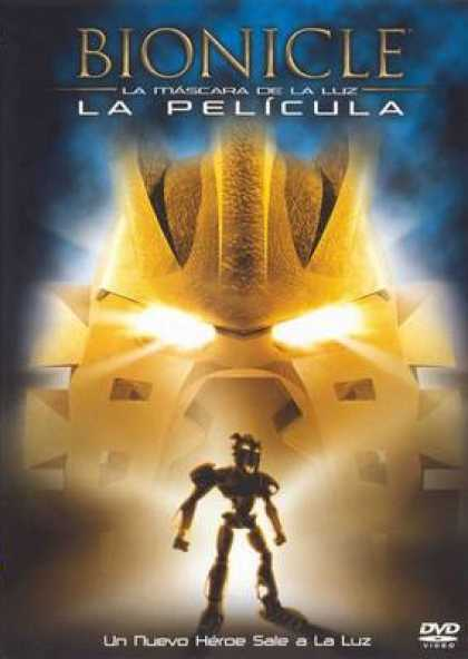 Spanish DVDs - Bionicle The Film