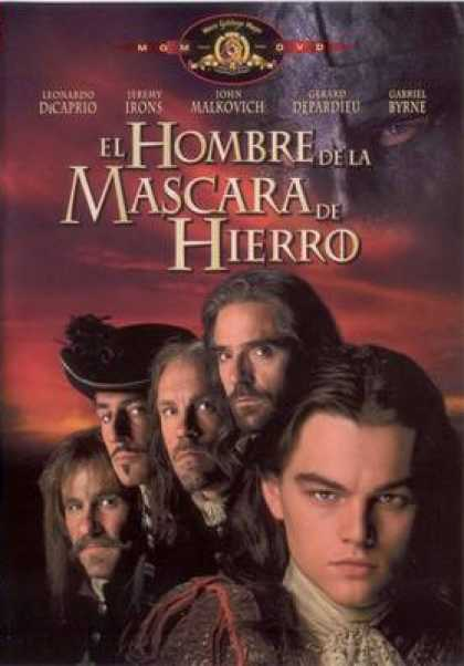 Spanish DVDs - The Man In The Iron Mask