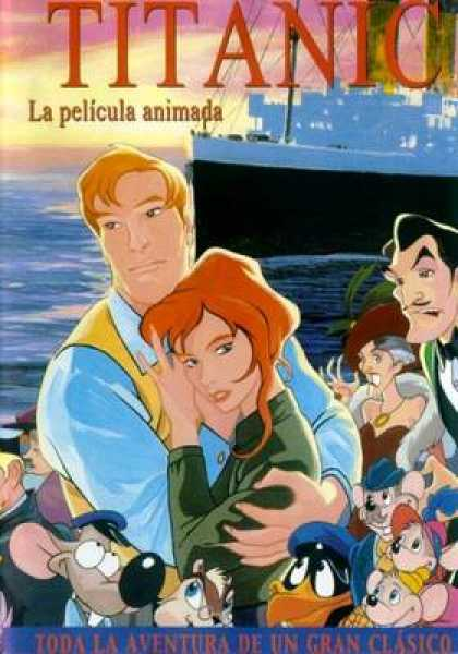 Spanish DVDs - Titanic The Animated Movie