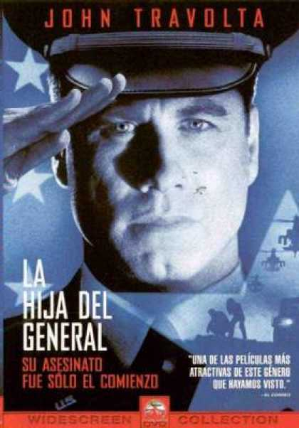 Spanish DVDs - The Generals Daughter