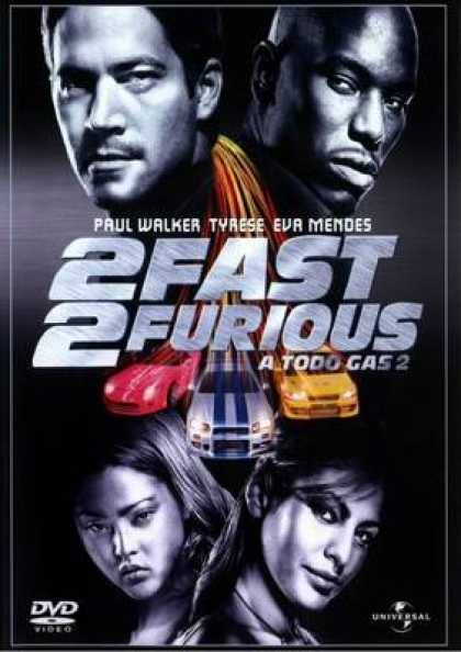Spanish DVDs - 2 Fast 2 Furious