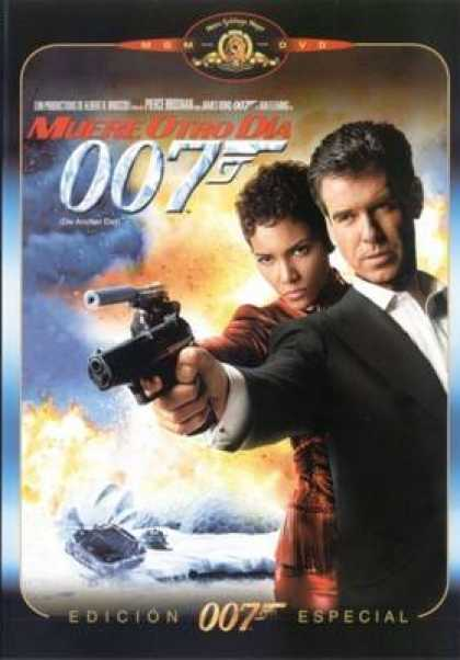 Spanish DVDs - Die Another Day