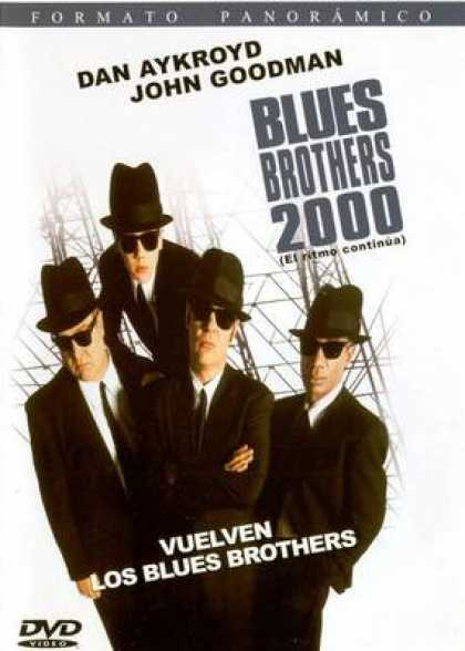 Spanish DVDs - Blues Brothers 2000