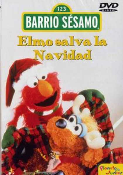 Spanish DVDs - Sesame Street Elmo Christmas