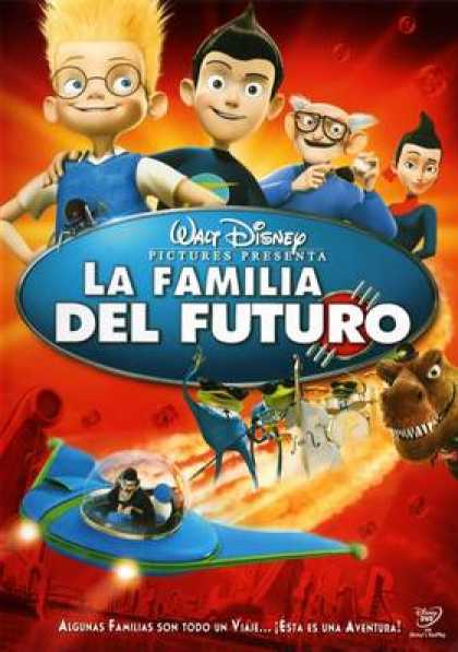 Spanish DVDs - Meet The Robinsons SPANISH R4