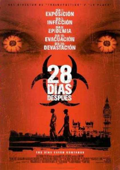 Spanish DVDs - 28 Days Later