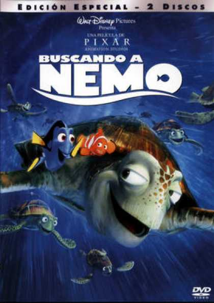 Spanish DVDs - Finding Nemo