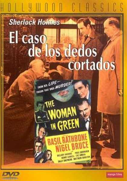 Spanish DVDs - The Woman In Green