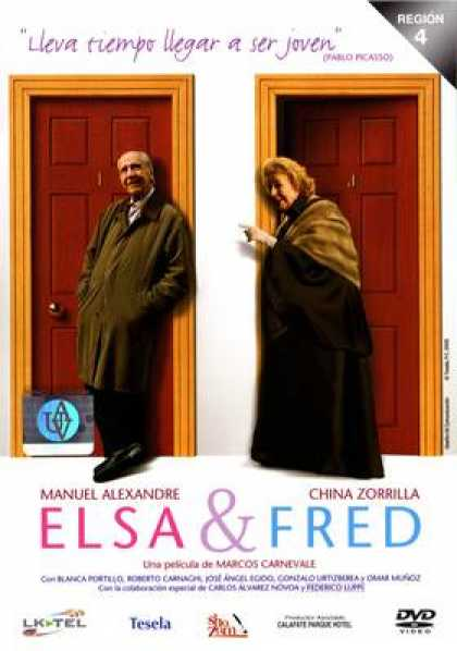 Spanish DVDs - Elsa & Fred R4